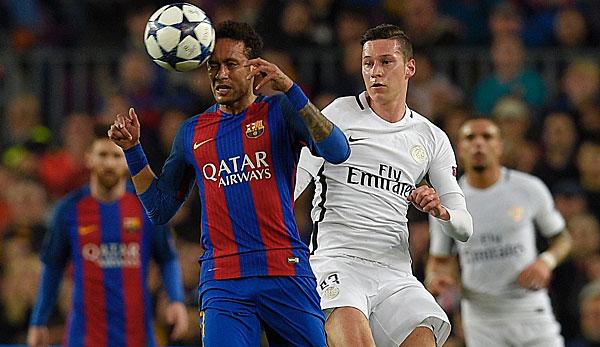 Neymar für Julian Draxler im Tausch zum FC Barcelona?