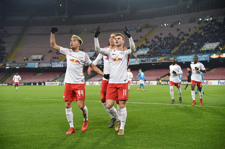 Europa League: Leipzig dreht Spiel in Neapel