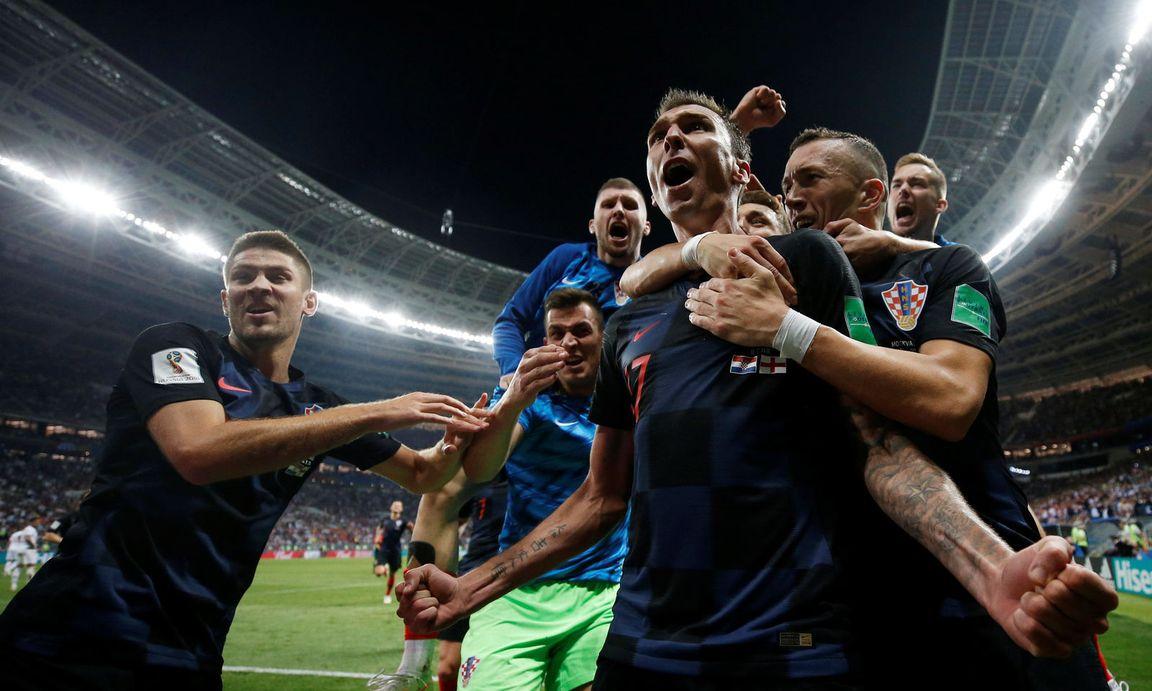 KROATIEN BESIEGT ENGLAND : Der sensationellste Finalist der WM-Geschichte