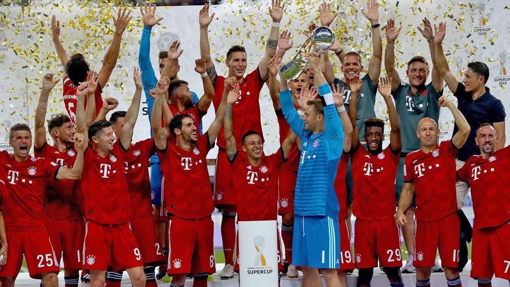 Supercup: Bayern München schlägt Eintracht Frankfurt 5:0