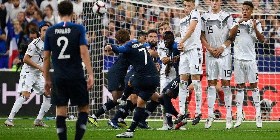 Nations League – DFB verspielt Führung in Frankreich