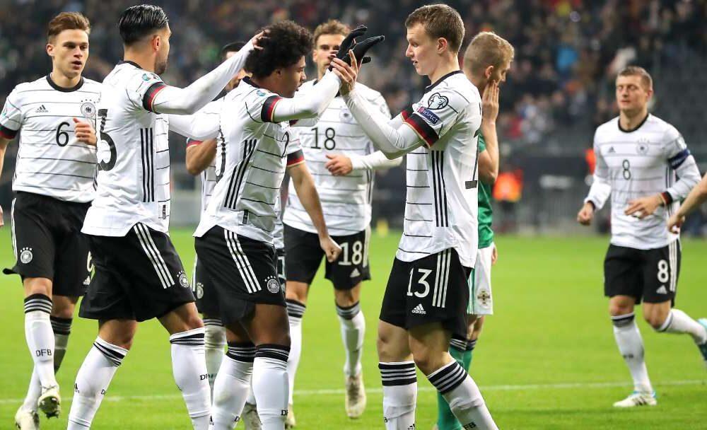 Dreifacher Gnabry! Deutschland feiert Gruppensieg mit 6:1-Gala gegen Nordirland