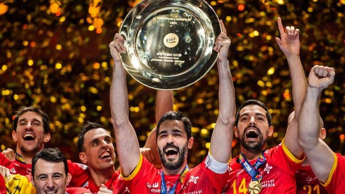 Finalsieg Spanien erneut Handball-Europameister!