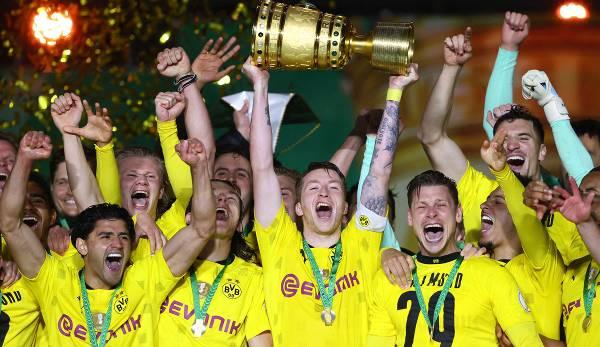 Borussia Dortmund ist DFB-Pokalsieger der Saison 2020/21